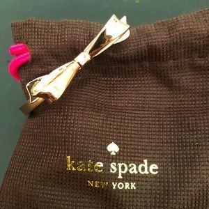 Kate Spade ♠️ Love Notes Bow Bracelet